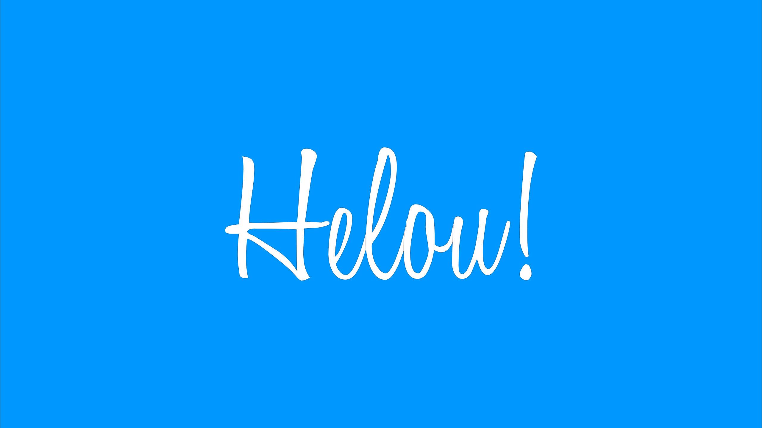 Helou! je online!