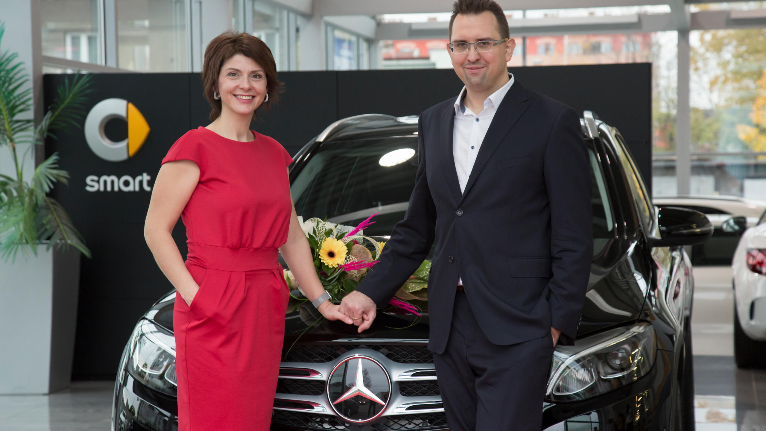 Taková krása! Nový Mercedes Benz GLC 250d 2017 byl včera předán v Ostravě