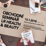 Obchodní seminář  LR Health & Beauty v roce 2018 od Helou!