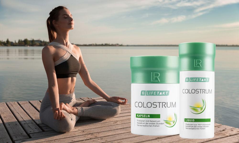 Colostrum a meditace zpomaluje stárnutí