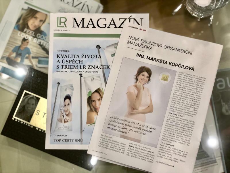 LR magazín: Ing. Markéta Kopčilová