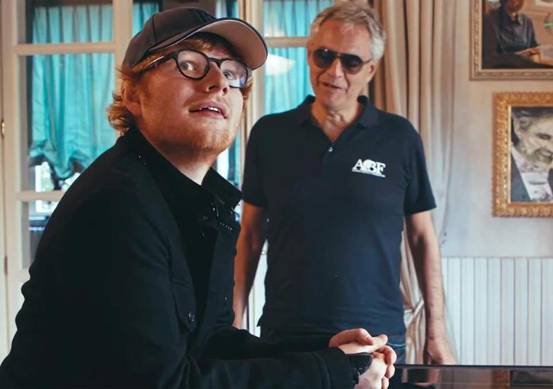 Song na tento víkend: Ed Sheeran – Perfect Symphony with Andrea Bocelli