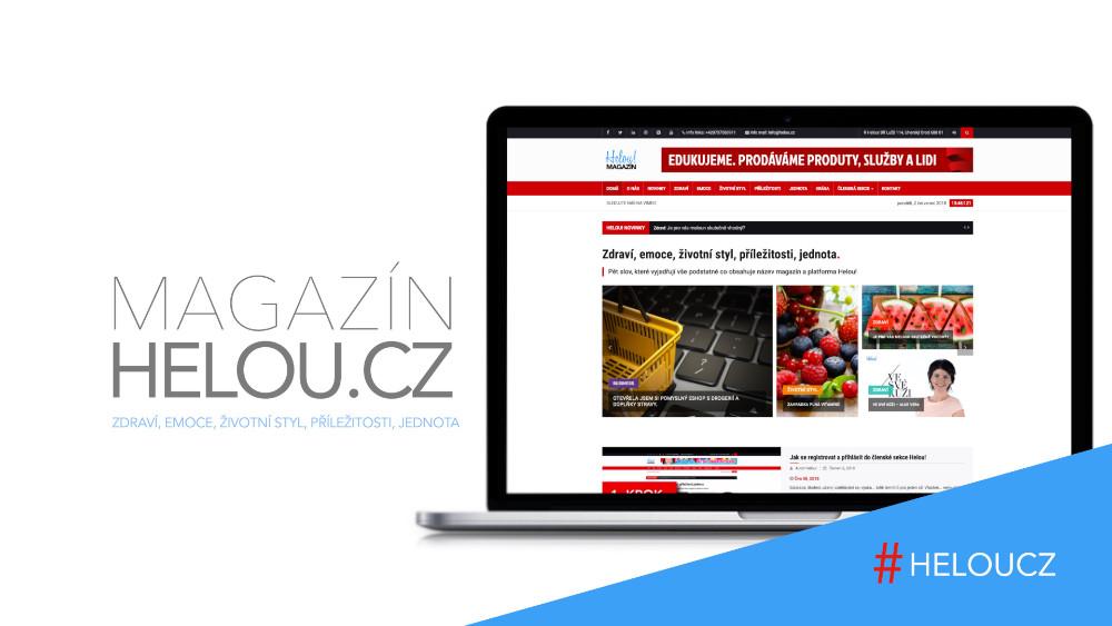 Magazín Helou.cz je magazín o životě
