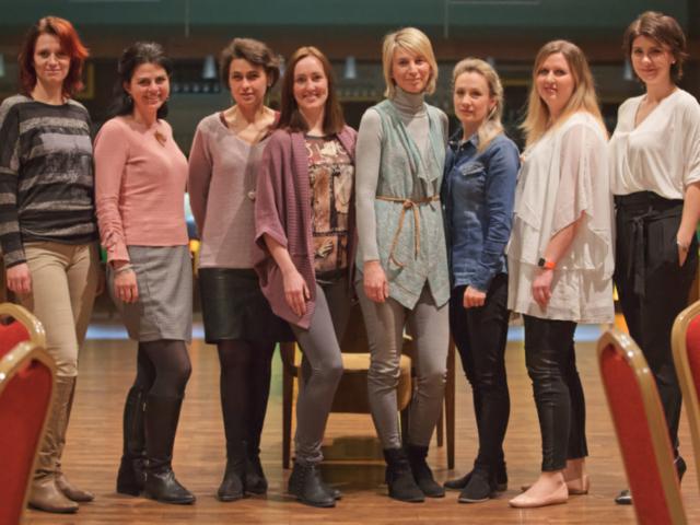 Eva Mikšovičová, Kateřina Junášková, Lenka Kepičová, Michaela Miklicová, Markéta Kopčilová, Helou! LR Health and Beauty