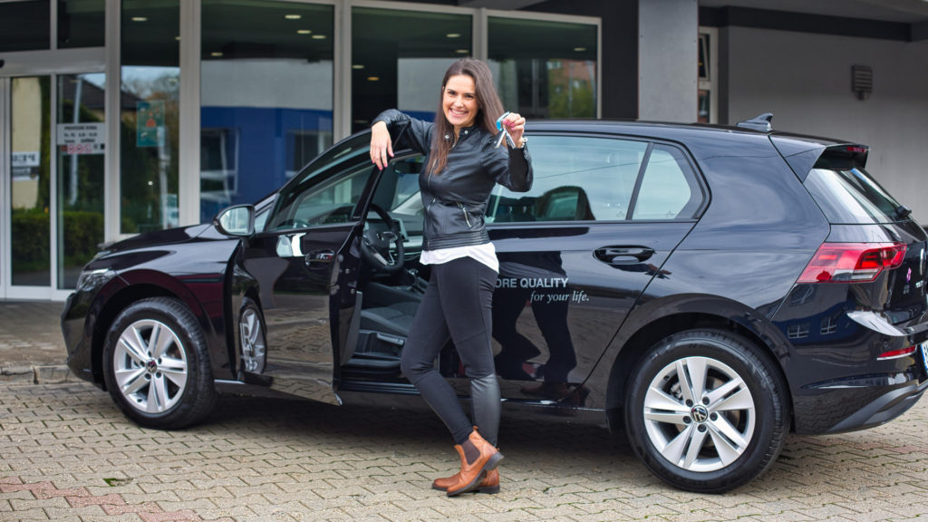 Hanka Vágnerová, VW Golf LR ed